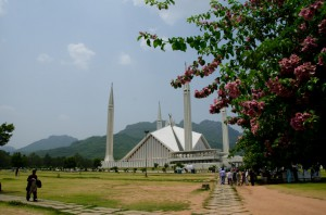 Al Faisal Mosque in Islamabad