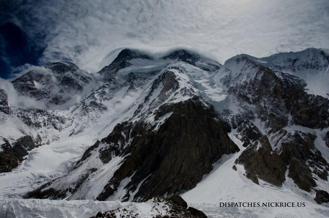 Broad Peak viewed from Base Camp