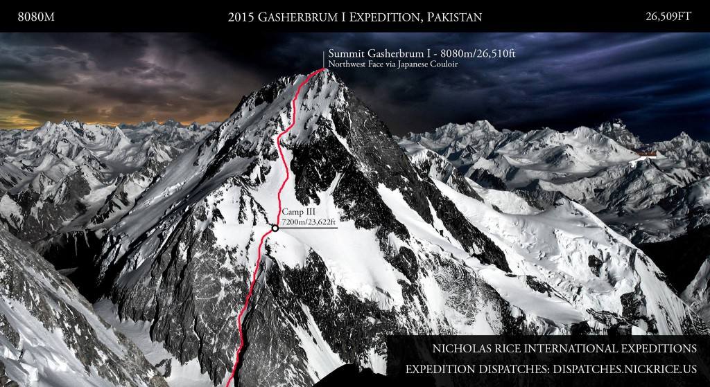 2015 Gasherbrum I Expedition