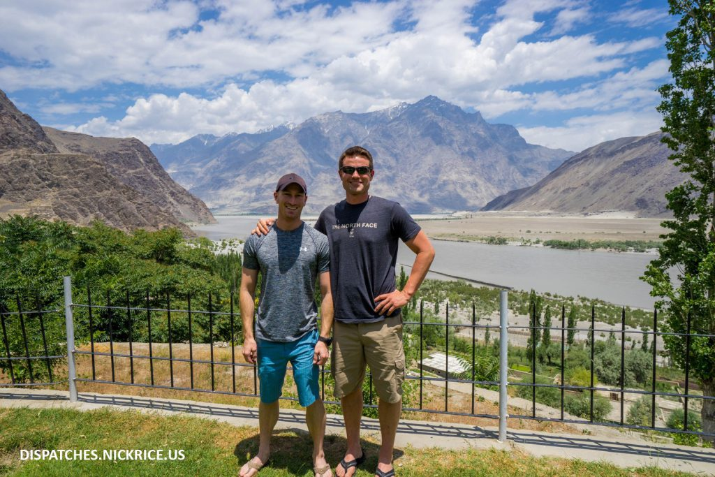 Nick Rice and Ryan Kushner in Skardu