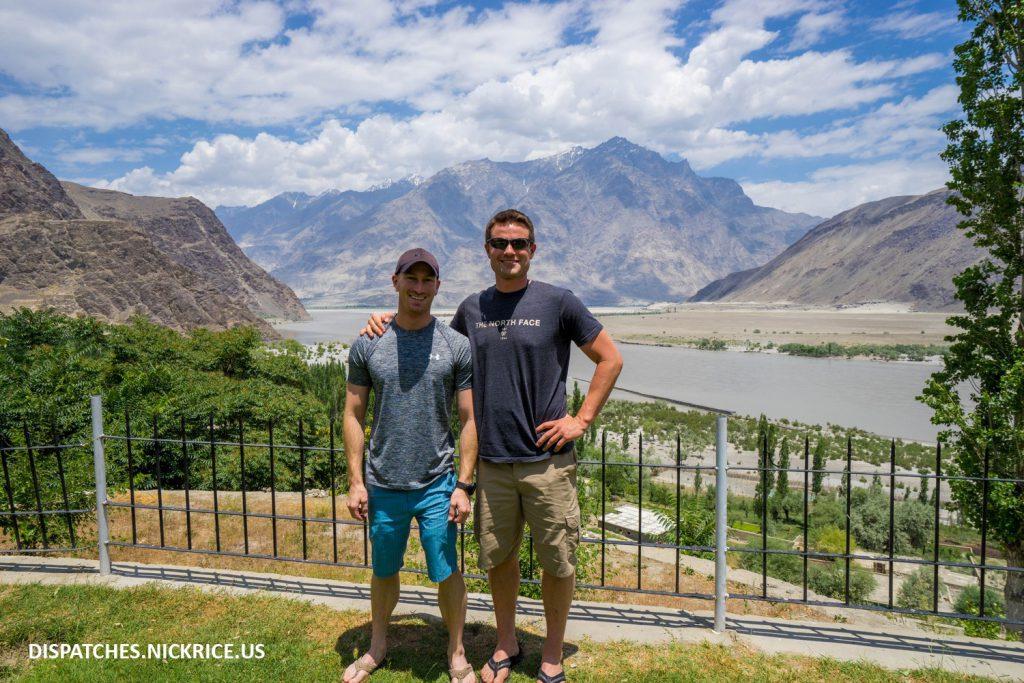 Nick Rice and Ryan Kushner in Skardu